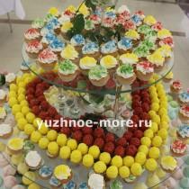 Candy Bar для сотрудников ОК Спутник в честь празднования 23 февраля и 8 марта